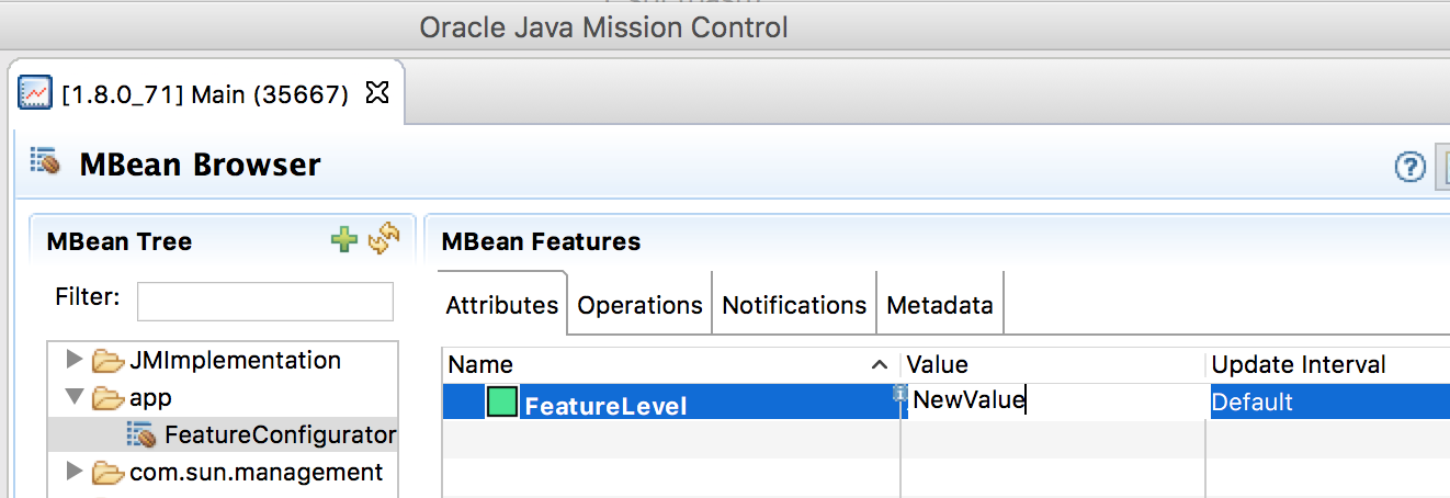 Feature Switches, Inheritance and Agile with Scala & JMX on the JVM